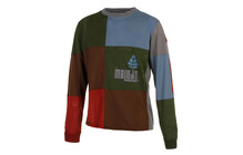 Maloja AireM. Freeride Jersey Heren 1/1 groen/bruin